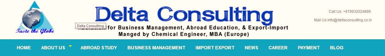 Delta Consulting- Solution for Business Management, Study Abroad, and Export-Import